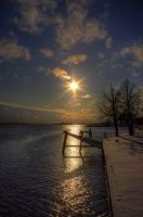 Sunset HDR by Pharaun333