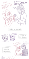 Pregnancy Comic Doodles 00 by PokreatiaForms