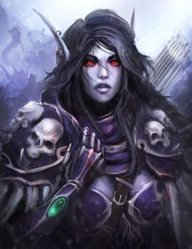 World Of Warcraft - Sylvanas, The Dark Lady by theDURRRRIAN