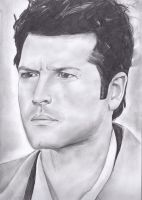 Misha Collins by thedoctor-donna