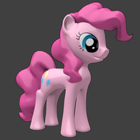 Pinkie Pie 3D Model by InfinityDash