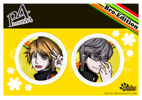 Persona 4: Bro Edition by VernCode