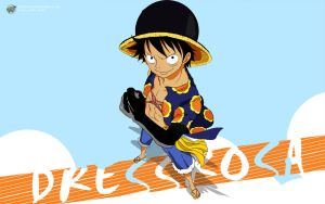 One Piece 1 Dressrosa (Luffy) - 1440x900 by PugPrime