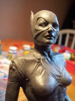 work in progress catwoman by Sean-Dabbs-fx