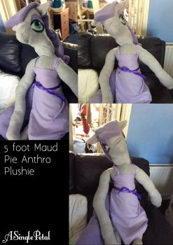 .: Commission: Maud Pie plushie :. by ASinglePetal