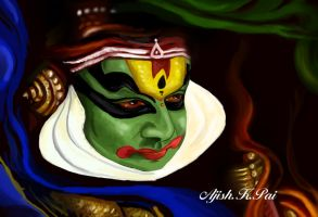 Kathakali by ajishrocks
