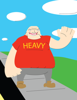 Heavy in casual clothes by HWO