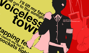 P4 opening style - P3 Akihiko by char0118