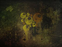 Grunge Balls wallpaper by Dakann