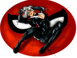 BLACK CAT by Mich974
