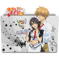 Kaichou wa Maid sama! - Icon Folder by ubagutobr