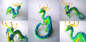 Serpentine Dragon by cathykitcat