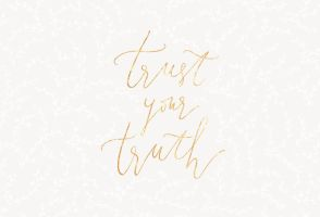 trust your truth by cocorie
