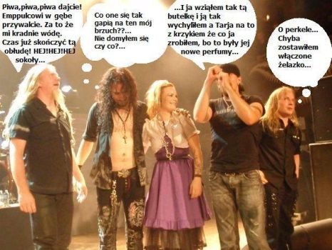 Nightwish after show by Oceansoul7777