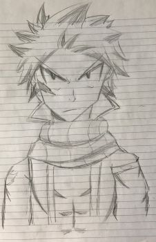 Natsu Dragneel | Fairy Tail by WhileUrUp