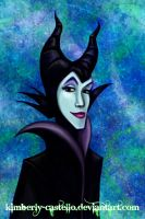 Disney: Maleficent of Sleeping Beauty by kimberly-castello