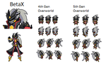 BetaX Full Sprites by BetaX64