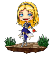 LoL: Lux chibi by 7guineapig7