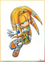Tikal the Echidna by Liris-san