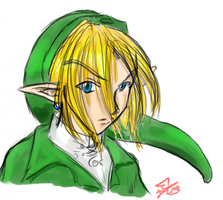 Open Canvas: Link by chiri-chan