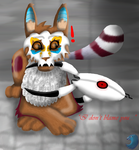 -Talkative Chew Toy- (Happy Birthday Tawneh) by WaterPhoenixWarrior
