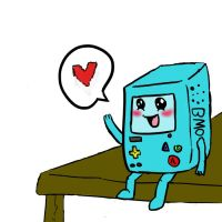 BMO by MarluxiaBeast