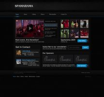 SPAMARAMA.info Website v1 by Axertion