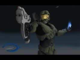 Master Chief 2-point perspec by dd2005