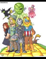 Avengers of OZ by Dragonspaz
