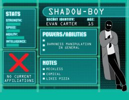 OC BIO Shadow-Boy by BenjaminHopkins