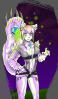 Cyber cat by GuroiCandy