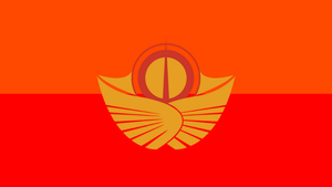 The Flag of the Solar Empire (No Text) by PilotSolaris