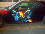 This car just become 20% cooler by Jovianwolfgirl