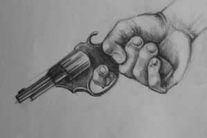 hand sketch by nfenman