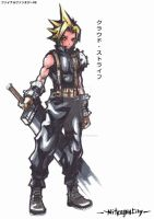 Cloud Strife - The Soldier by NitrogenCity