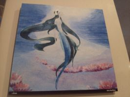 original painting for ariel by vienna2000