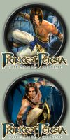 Prince of Persia: The Sands Of Time Icons by kodiak-caine
