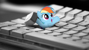 I hid in your keyboard, because i love you! by Klaifferon