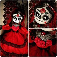 Evita the Sugar Skull Queen by TheTinyHobo
