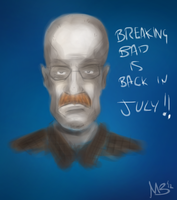 Breaking Bad is Back! (...in July says B Cranston) by cryptmonkey