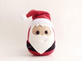 Stuffed Santa Claus Plushie by Saint-Angel