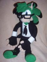 MIKE THE HEDGEHOG PLUSHIE by Victim-RED