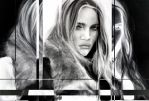 Rosie Huntington Whitely Experiment by JoeMallenderArt