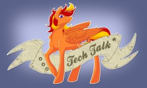 Tech Talk Tattoo by TechTalkPony