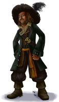 All Hearts - Captain Barbossa by LynxGriffin