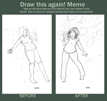 Before and after meme by EclecticNerd