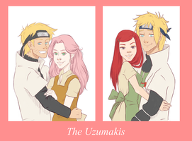 The Uzumakis by Ladypink93