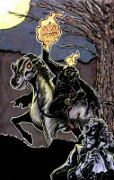 Headless Horseman by johnraygun