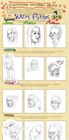 Expression Meme by AllOutOfBubblegum
