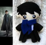 Sherlock Doll Plush by P-isfor-Plushes